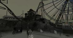 The abandoned carnival, by Madpea. Its eerie, foggy, and gives you that heightened sense where you feel like you're been watched by aliens..or ghosts of the past. There was plenty that grabbed my a...
