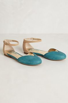 Did I pin these already? Citizen D'Orsay Flats #anthropologie