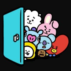 Bts Emoji, Bts Bag, Bts Girl, Cricut Craft Room, Line Friends, Bts Drawings, Bts Playlist, Bts Chibi, Bts Korea