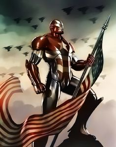 Iron Patriot by Aspersio on DeviantArt