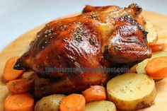 I have never roasted a whole chicken before. Since, it is almost Christmas, I thought it would be good to practice roasting a chicken. I...