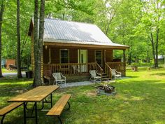 Little Tracks Cabins TWO-fish Cabin, Holladay TN Cabins and Vacation Rentals   RentTennesseeCabins.com