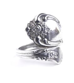 Vintage Spoon Ring  Vintage Size 6 1/2 WMA by MaejeanVINTAGE, $30.00