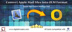 How to Use an Outlook to Apple Mail Converter?