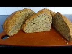 Soda Bread is a very simple bread, using baking soda rather than yeast as the leavening agent. It doesn't have to be kneaded and the resultant bread is very . Baking And Pastry, Baking Soda, Ice Cream Photos, Soda Bread, Bread Board, Easy Bread, Holiday Cakes, Gluten Free Cooking