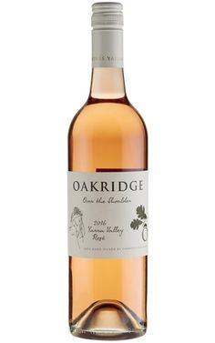 Oakridge Over The Shoulder Rose 2017 Yarra Valley - 6 Bottles Red Grapes, Red Fruit, Wine Australia, Vegan Wine, Yarra Valley, Wines, Red Wine, Shoulder, Bottles