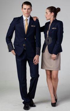 Airline Uniforms, Corporate Uniforms, Staff Uniforms, Corporate Outfits, Work Uniforms, Hotel Uniform, Office Uniform, Uniform Ideas, Garments Business