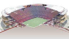 BARCELONA - Estadi Camp Nou (99,354 -> 105,053) - Page 70 - SkyscraperCity