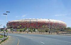 Football World Cup Stadium, Johannesburg Johannesburg Africa, Luxury Travel, World Cup, Gate, Football, Clouds, Adventure, Soccer, Futbol