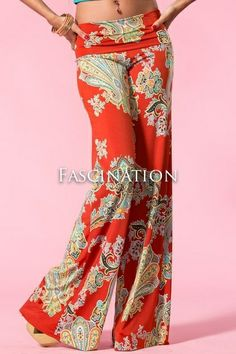 Palazzo pants. We will be doing this pattern! Fabulous fabrication!#teacmefashion