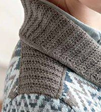 Saddle-Shoulders, from the Top Down - Knitting Daily - Knitting Daily