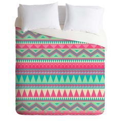 Iveta Abolina Pink Navajo Duvet Cover   DENY Designs Home Accessories