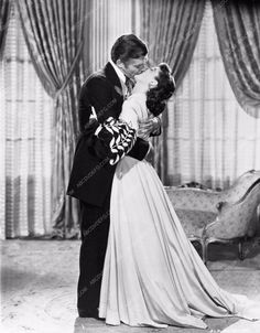 photo Vivian Leigh Clark Gable Gone With the Wind 252-21