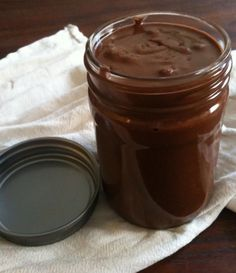 Homemade Nutella! After reading the not so healthy ingredients of Nutella-I will be making my own with a few healther options than is even in this recipe-I will keep you posted on the progress of perfection