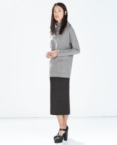ZARA - WOMAN - KNIT TUBE SKIRT