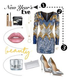 """""""Counting down"""" by astrild15 on Polyvore featuring Balmain, Casadei, Cloverpost, Kate Spade, SOKO, GlamGlow, Christian Dior and Jimmy Choo"""