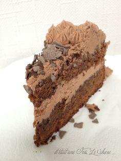 Mud Cake Crème au Beurre Chocolat