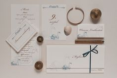 blue swan wedding invitation collection Swan, Wedding Invitations, Gallery Wall, Frame, Blue, Collection, Decor, Picture Frame, Swans
