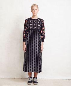 Love the Ikat bodice Warm Fall 2016 Ready-to-Wear Fashion Show