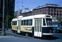 Último tranvía en Madrid, 1972. Éste fue el último modelo de tranvía que existió en Madrid, en el año 1972.