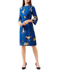 2509614a698 HOBBS LONDON Tea Rose Printed Dress Women - Bloomingdale s
