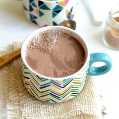 This Vegan Chai Hot Chocolate takes 5 minutes to make, is low calorie, and full of Fall flavor! I totally didn't even realize that Tuesday was the first day of Fall. I thought I had at least ...