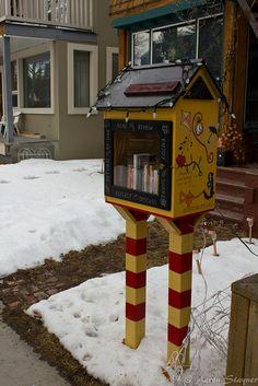 Little Free Library | Sunnyside. | Aaron | Flickr