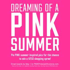 it's dreaming of a pink summer <3