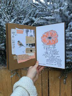 Art Journal Sessions in Winter ✨ • mereljournals