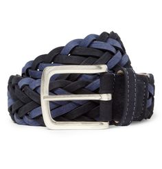 Paul Smith Shoes  AccessoriesWoven Nubuck Leather Belt