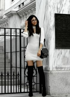Florencia R. - the sweater dress