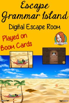 Practice important grammar points with this fun digital escape room. Children will need to explore the island answering grammar puzzles and collecting information to escape the island. All About Me Crafts, Role Play Areas, Grammar Practice, Planning And Organizing, Escape Room, English Lessons, Activity Games, Primary School, Teaching English