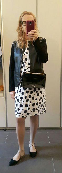 Silkdress, Coccinelle Bag, Black&White Black And White, Bags, Ladybug, Black White, Handbags, Blanco Y Negro, Black N White, Dime Bags, Totes