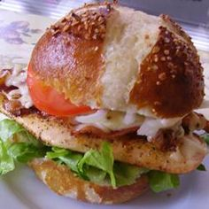 Recette : Sandwich Suprême Bacon Poulet