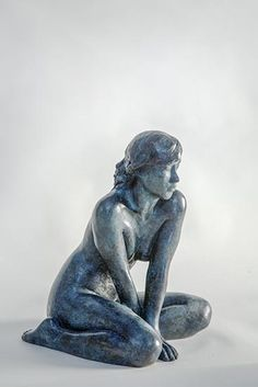 Phillip Piperides Resting Muse  bronze Copyright © Phillip Piperides