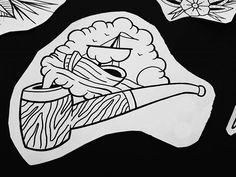 A sailors pipe #art #artist #tattoo #tattooart #tattoos #tattooed #tattooflash #tattoosketch #tattoodesign #tattooartist #flashaddicted #blackwork #sketch #design #inked #ink #inklife #traditionaltattoo #traditionaltattooflash #dotwork #tattooistartistmagazine #neotraditionaltattoo #dotworktattoo #russiantattoo