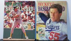 Vintage 1988  BASEBALL Magazines JOSE CANSECO~ Beckett Baseball Card Monthly