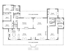 Homestead House Plans Australian Floor Plans Houses