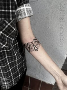 Dots To Lines Tattoos