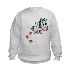 Unicorn Sweets Kids Sweatshirt ..what a cute print
