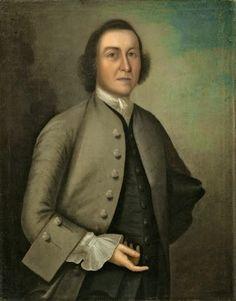 "Joseph Badger, Dr William Foster, 1755. Oil on canvas, 35 3/4"" x 28 1/8"" (90.8 x 71.4 cm). © National Gallery of Art, Washington, DC. (NGA-P0811)"