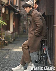 Gong Yoo in Marie Claire Korea October 2017 Korean Star, Korean Men, Asian Actors, Korean Actors, Korean Dramas, Super Junior キュヒョン, Goblin Gong Yoo, Yoo Gong, Goong