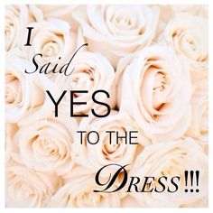 Finding my wedding dress was more emotional then I anticipated, BUT it makes me that much more excited to marry her!