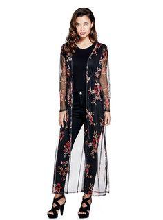 3dfd1240464d Q83P12R7Z50 Floral Duster, Cardigans For Women, Ethnic, Mesh, Culture,  Dusters,