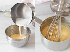 Cómo hacer crema diplomática Egg Yolks, Egg Wash