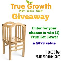 Do you have a little one at home? Or maybe your a grandparent and want to make it easy for the grandchildren to help you out in the kitchen, etc.  This is the coolest product I have seen in forever for kids!!!  ENTER TODAY TO WIN BY APPLYING BELOW!!! Giveaway dates:  6/23 …