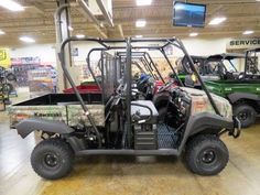 """New 2017 Kawasaki Mule 4010 Trans4x4 Camo ATVs For Sale in West Virginia. <p style=""""margin-bottom: 1em;"""">The Muleâ""""¢ 4010 Trans4x4® Camo Side x Side with Realtree Xtra® Green Camo pattern exudes the outdoor sportsman lifestyle. This versatile mid-size four-passenger workhorse is well equipped to put in a hard day of work and support hunting and fishing adventures.</p><ul><li>617 cc fuel-injected, V-twin engine produces reliable performance</li><li>Convertible design lets you easily change…"""