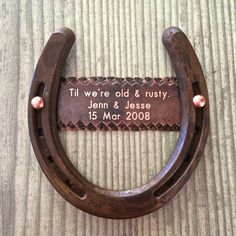Engraved copper plate 7th anniversary or by BlacksmithCreations