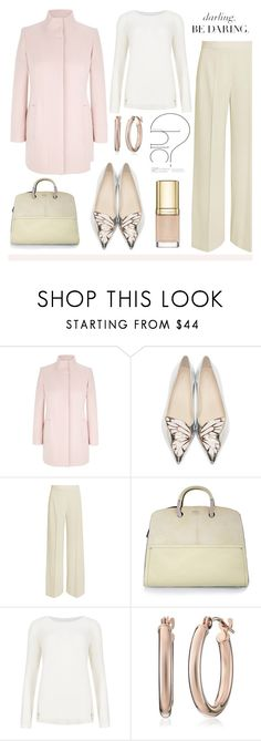 """""""Winter Pastels"""" by soleuza ❤ liked on Polyvore featuring Viyella, Sophia Webster, STELLA McCARTNEY, Furla, M&S Collection and Dolce&Gabbana"""