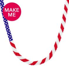 America the Beautiful Necklace | Fusion Beads Inspirational Gallery